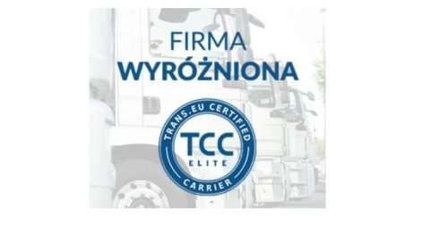 Otrzymaliśmy certyfikat TCC Elite