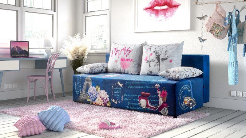 Pokój młodzieżowy: świetne pomysły na sofę, praktyczne porady.